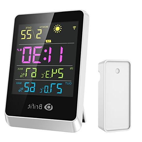 brifit wireless hygrometer indoor thermometer
