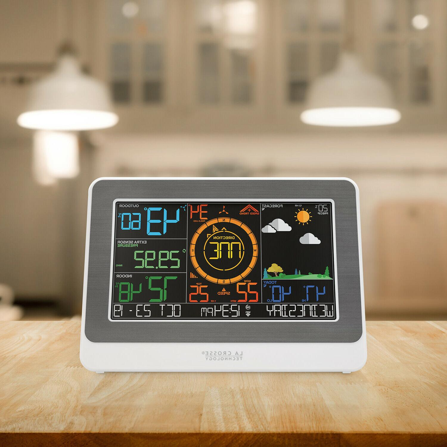 WiFi AccuWeather Color Station