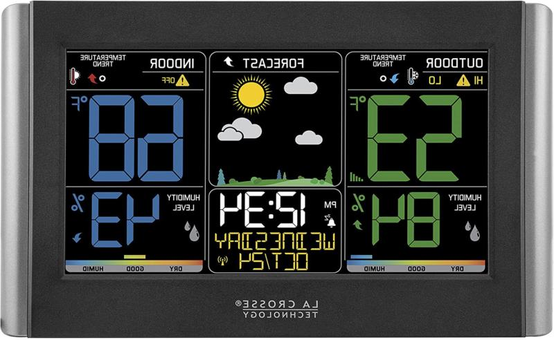 La Crosse Technology C85845-1 Color Wireless Forecast Statio
