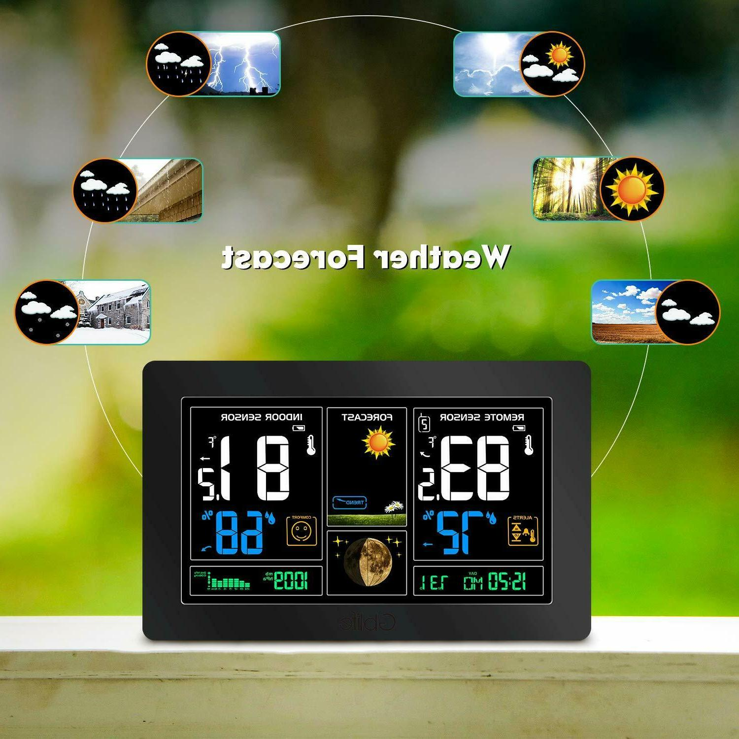 Color LCD Station Calendar Indoor Outdoor
