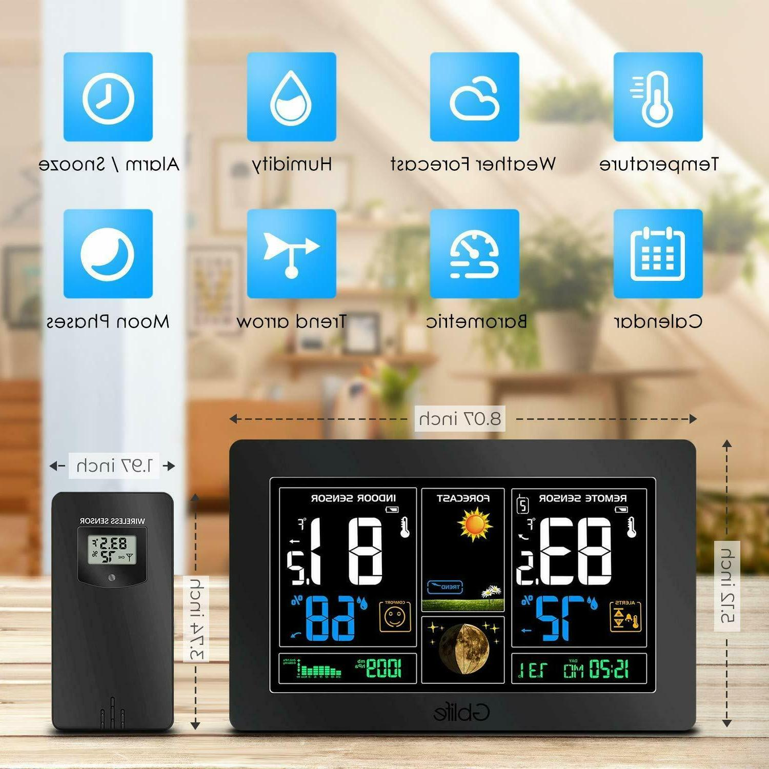 Color LCD Weather Station Indoor
