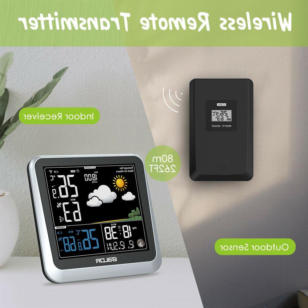 BALDR Color Digital Weather Station Wireless Barometer