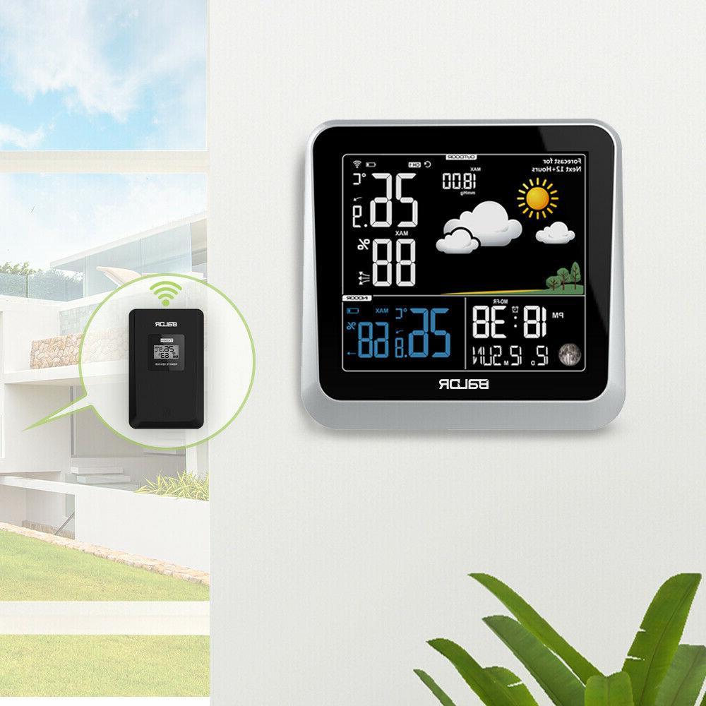 BALDR Color Station Indoor/Outdoor Barometer