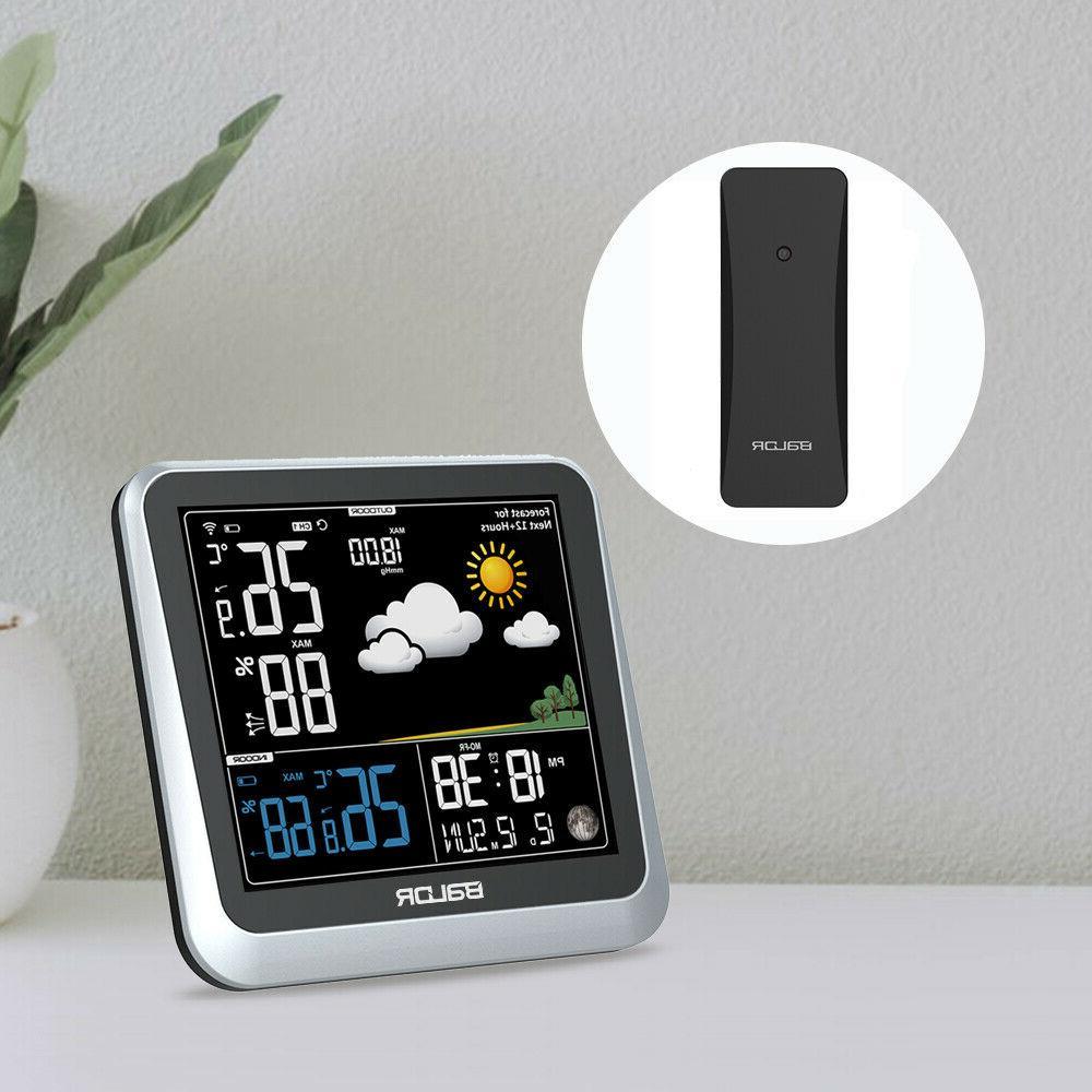 color digital weather station wireless indoor outdoor