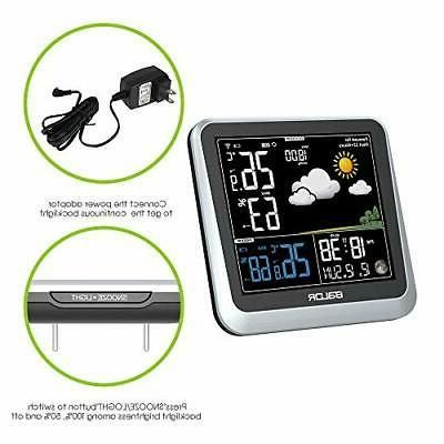 BALDR Digital Indoor/Outdoor Station with Thermometer