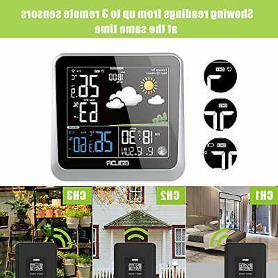 BALDR Digital Indoor/Outdoor Thermometer
