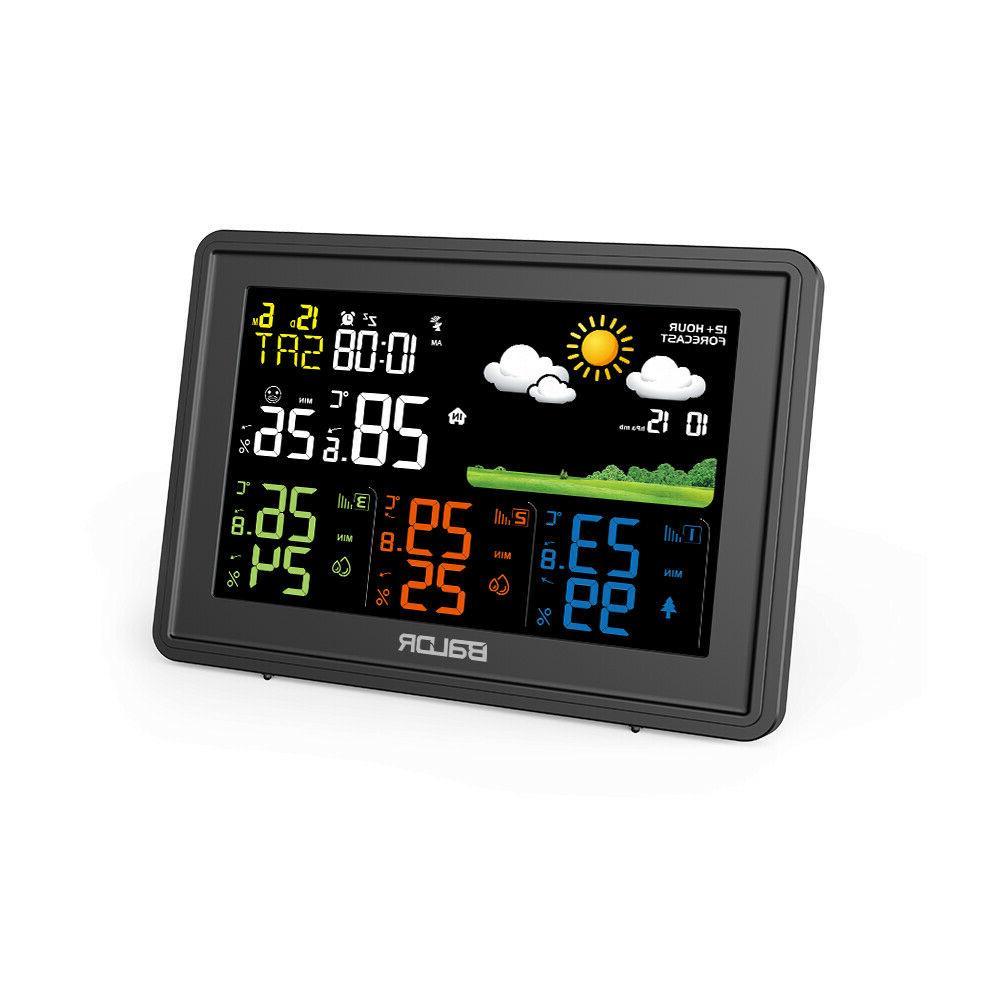 BALDR Digital LCD Indoor Outdoor Weather Temperature Humidity Sensors