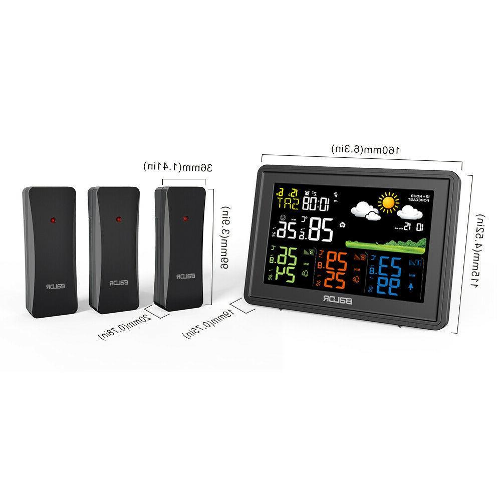 BALDR LCD Indoor Outdoor Temperature Humidity