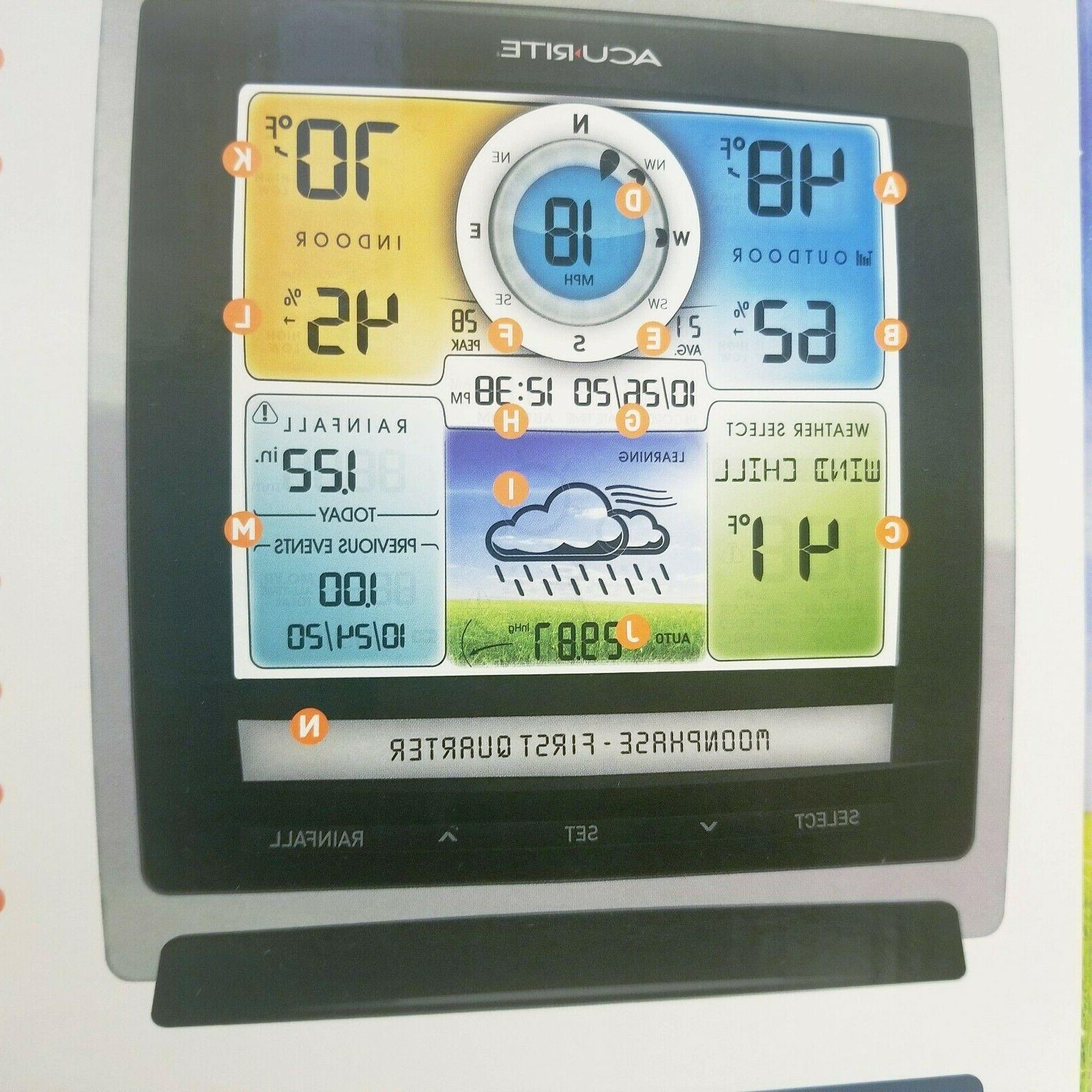 AcuRite Digital Pro Station Wireless Outdoor 5-in-1 Sensor Color