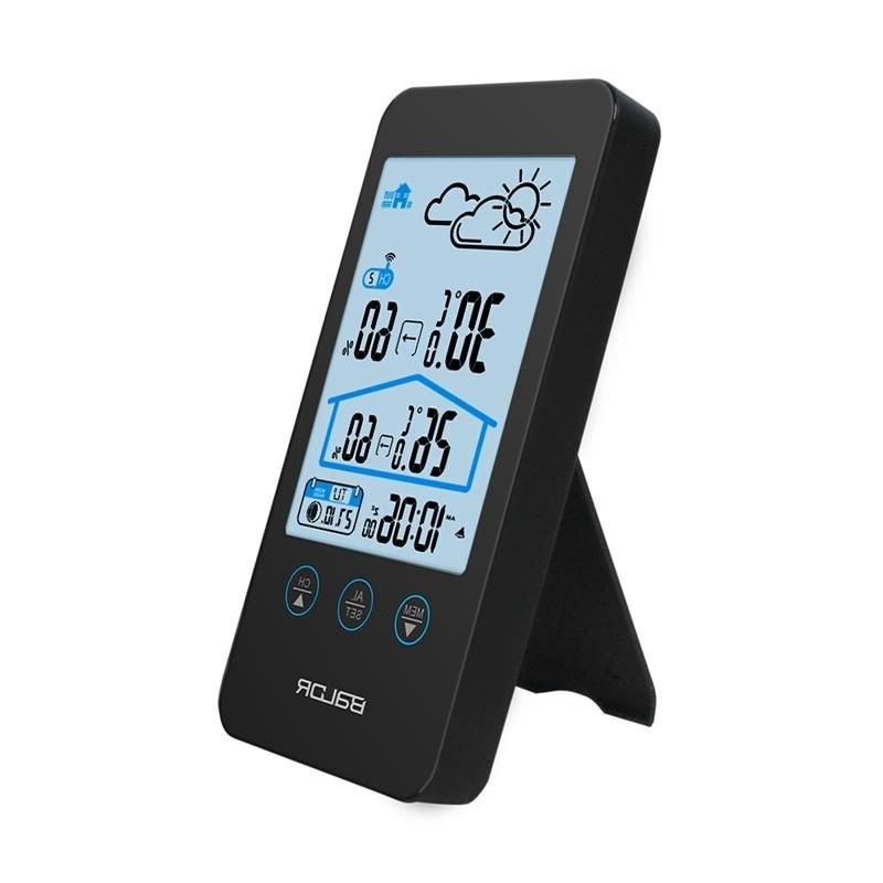 Digital Thermometer Hygrometer <font><b>Station</b></font> Meter Wireless Outdoor -20-65C C/F Display