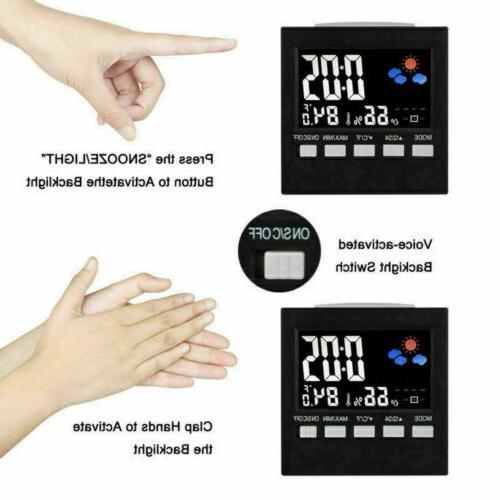 Digital Hygrometer Alarm Station Clean