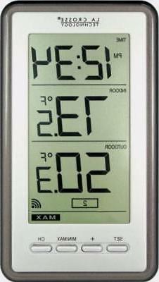 Digital Thermometer Wall Mount Wireless Remote Weather Stati