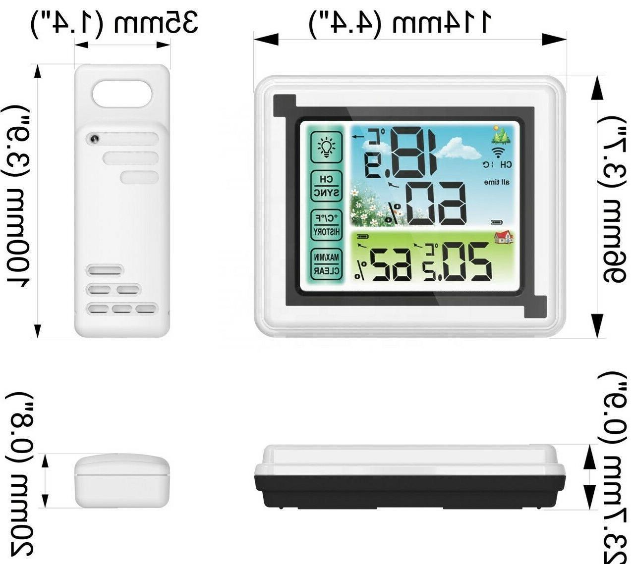 Weather Hygrometer Indoor