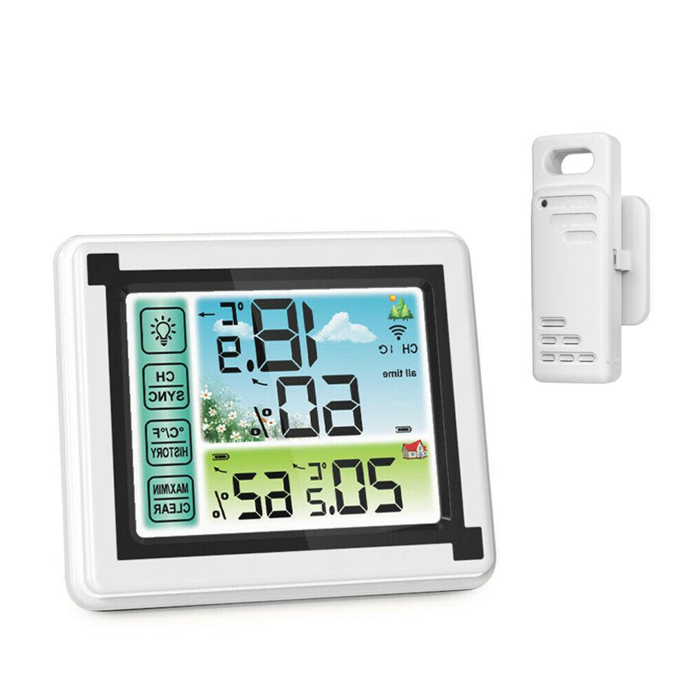 digital wireless hygrometer indoor outdoor thermometer tempe