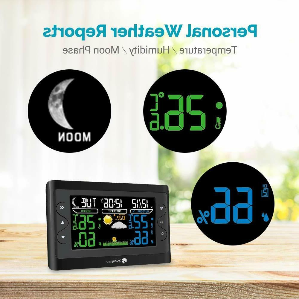Dr. Digital Weather Station Indoor Thermometer