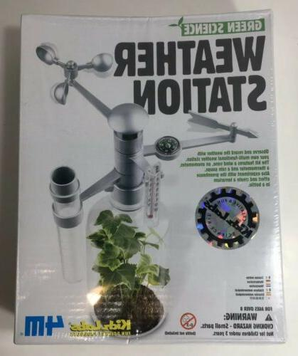 Education Science 4M Weather Station Kit Geology and Earth S