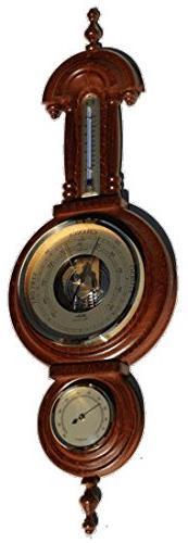 Ambient Weather 7295-12 Fischer Instruments Classic Walnut T