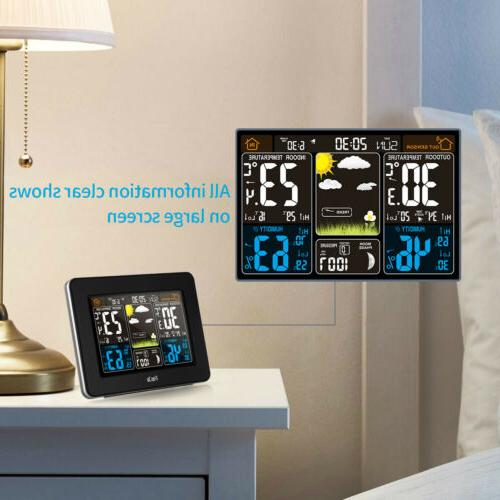 FanJu Wireless Weather Station Color with Outdoor