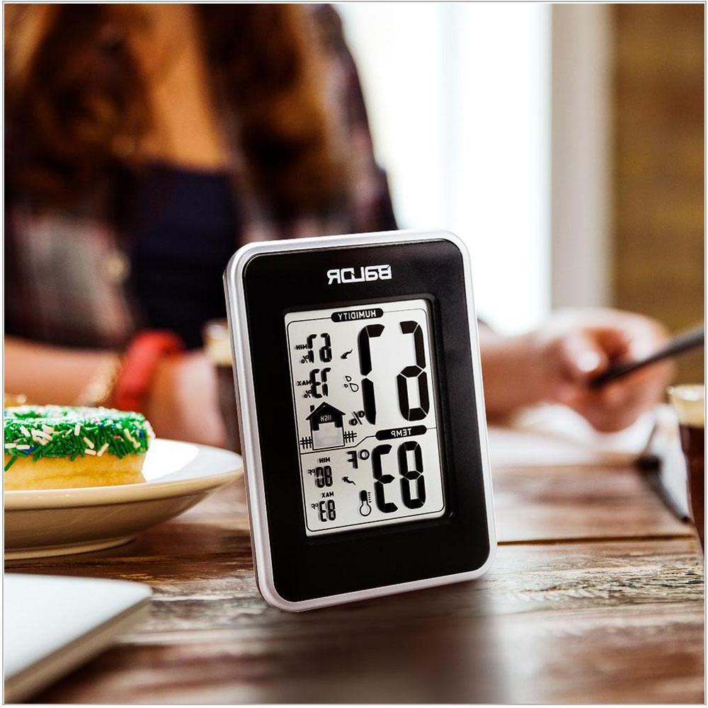 <font><b>Baldr</b></font> Digital Hygrometer Babyroom <font><b>Weather</b></font> Indoor Temperature Standing