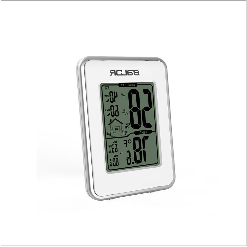 <font><b>Baldr</b></font> Hygrometer Babyroom <font><b>Weather</b></font> <font><b>Station</b></font> Indoor Temperature Humidity Meter Standing