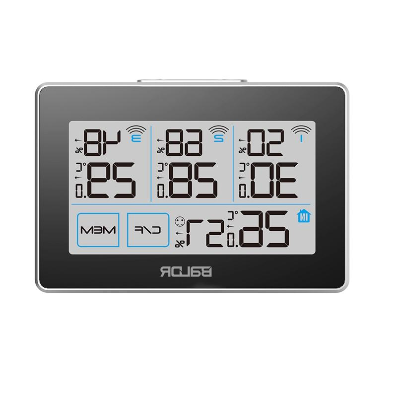 <font><b>Baldr</b></font> Touch Screen Thermometer Hygrometer <font><b>Weather</b></font> Remote