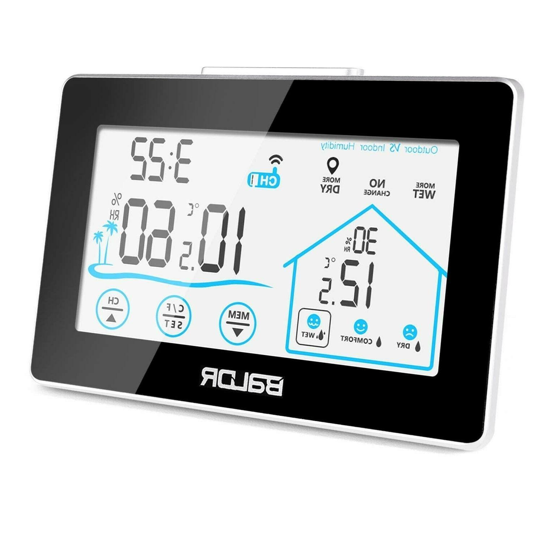 home weather station best lcd indoor outdoor