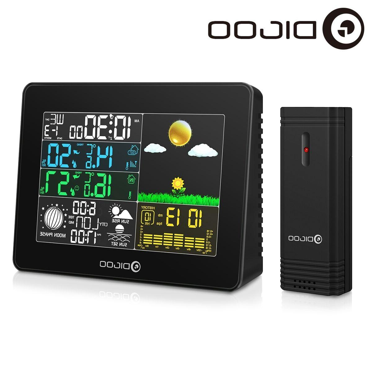 Digoo Full Color Hygrometer Thermometer Station