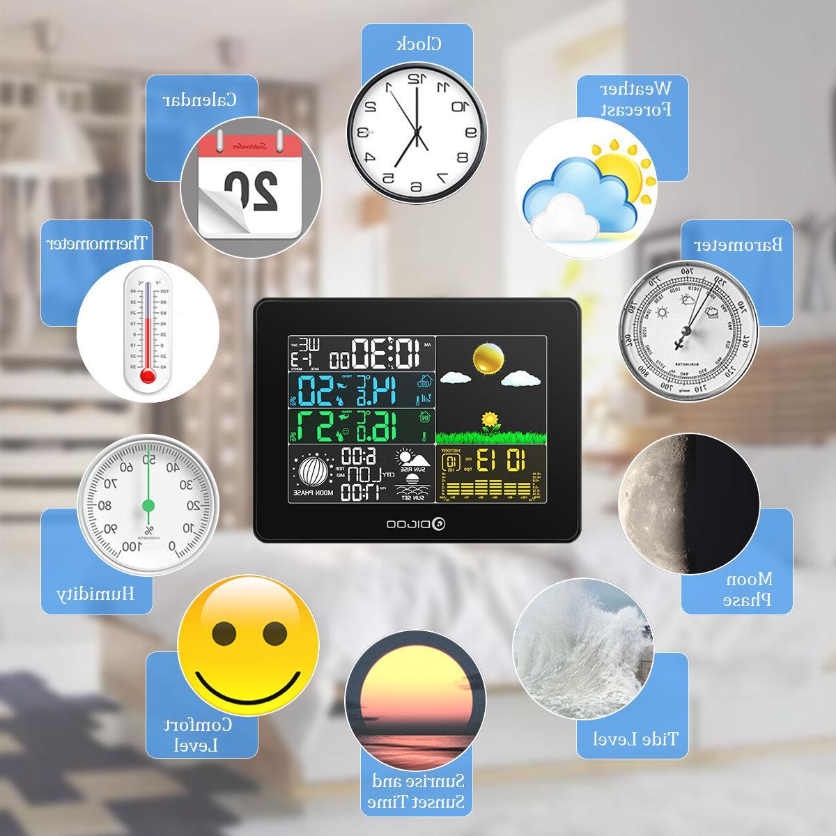 Digoo Digital Hygrometer Thermometer Station