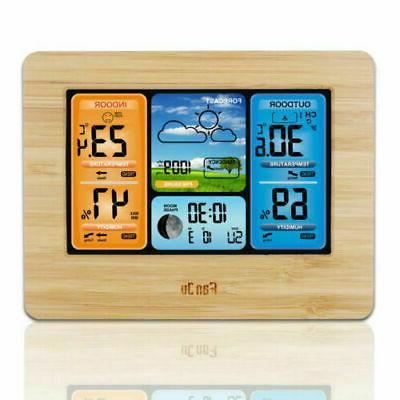 Indoor Wireless Calendar Thermometer