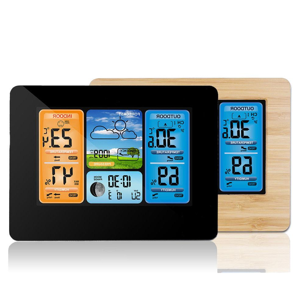 Wireless Color Calendar Thermometer