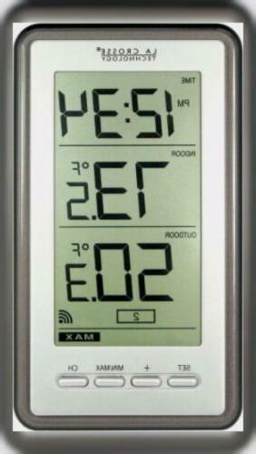 La Crosse Technology Indoor//Outdoor Temperature Ws-9160U-It Digital Thermometer