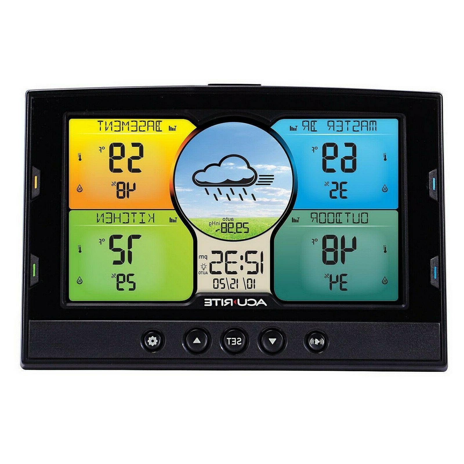 AcuRite Indoor Outdoor Weather Station 3 Temperature Humidity