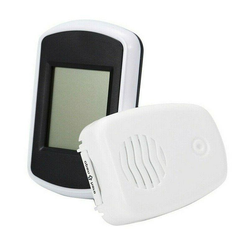 Indoor LCD Thermometer Weather with Sensor