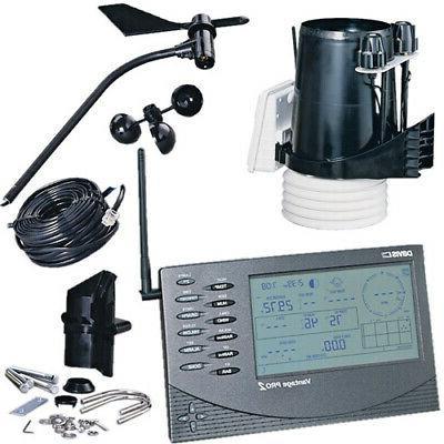 instruments vantage pro2 wireless weather station solar