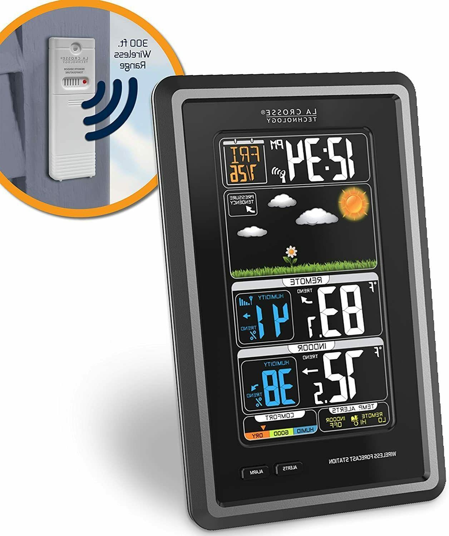 La Technology Vertical Wireless Station with Alert