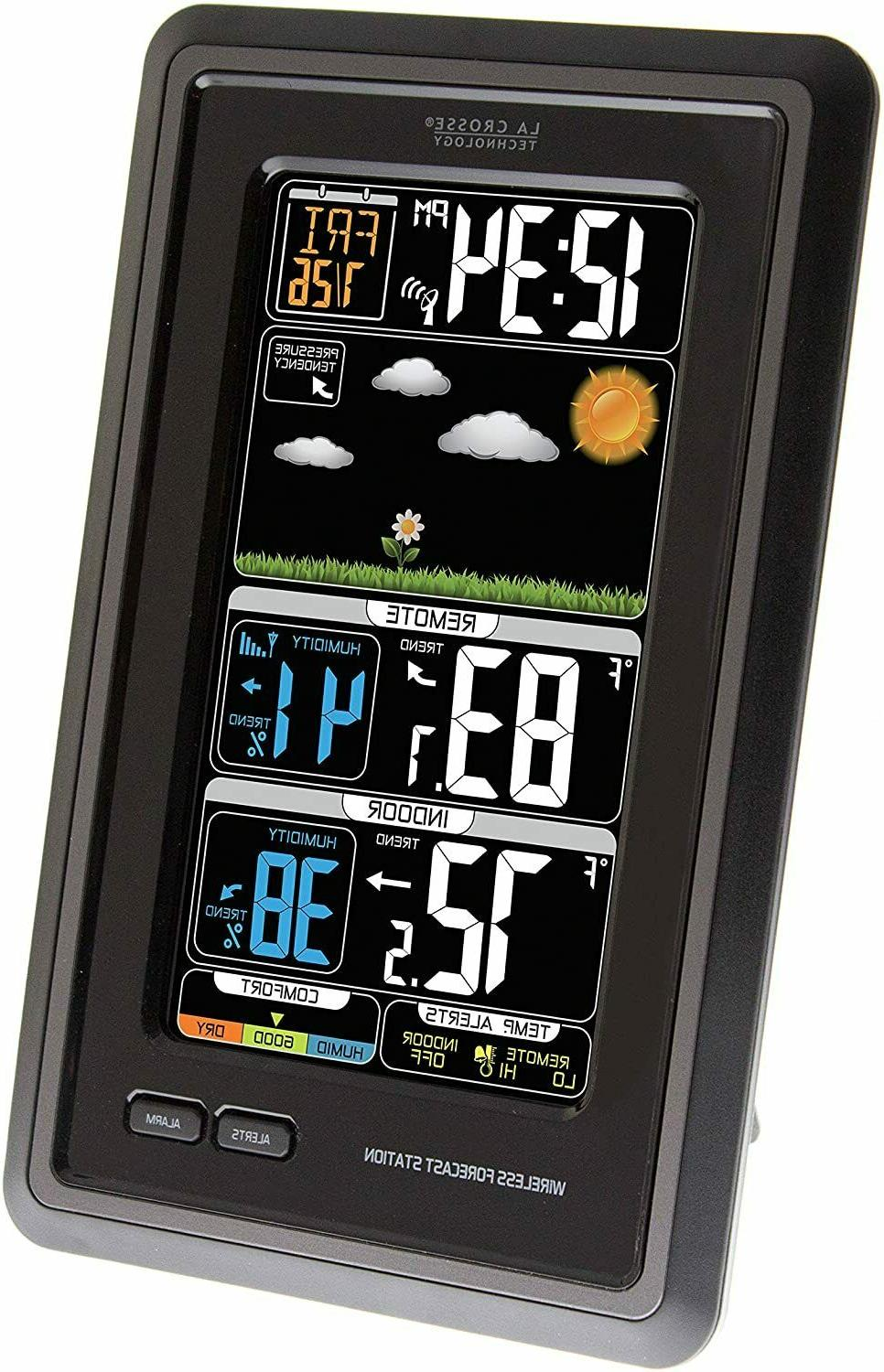 La Crosse Technology S88907 Vertical Wireless Color Forecast Station with