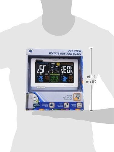 La Technology Crosse Technology 308-1414 Wireless Atomic Color Forecast Station Alerts