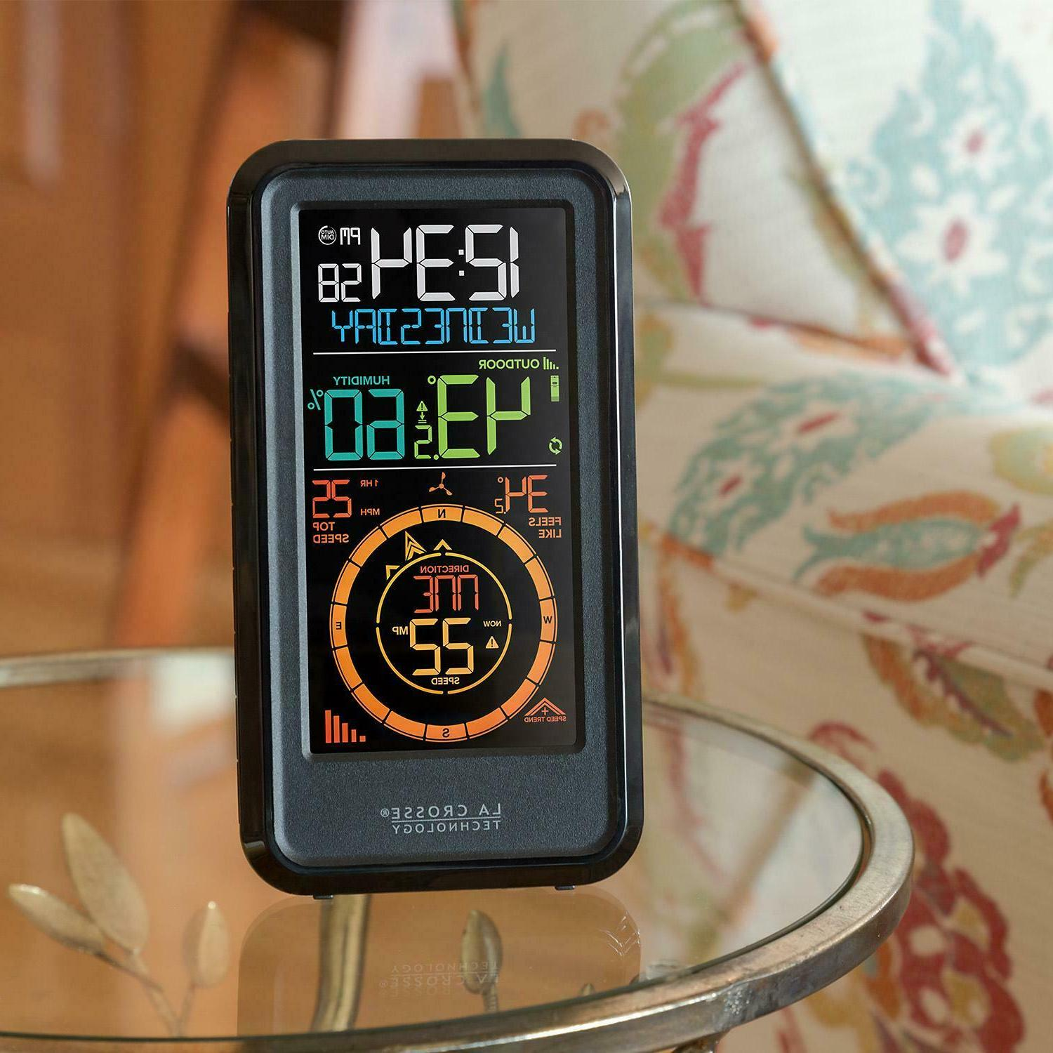 La Wireless Station With Wind Temperature & S81120