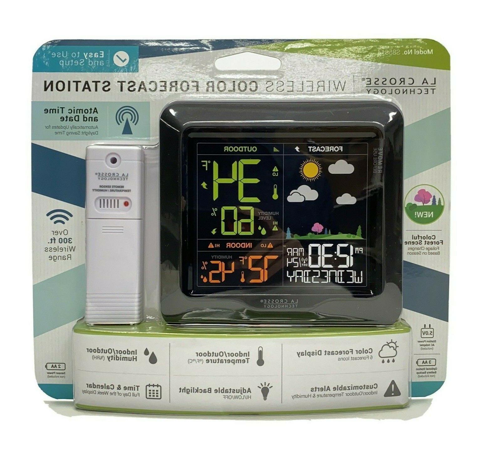 la technology wireless display weather