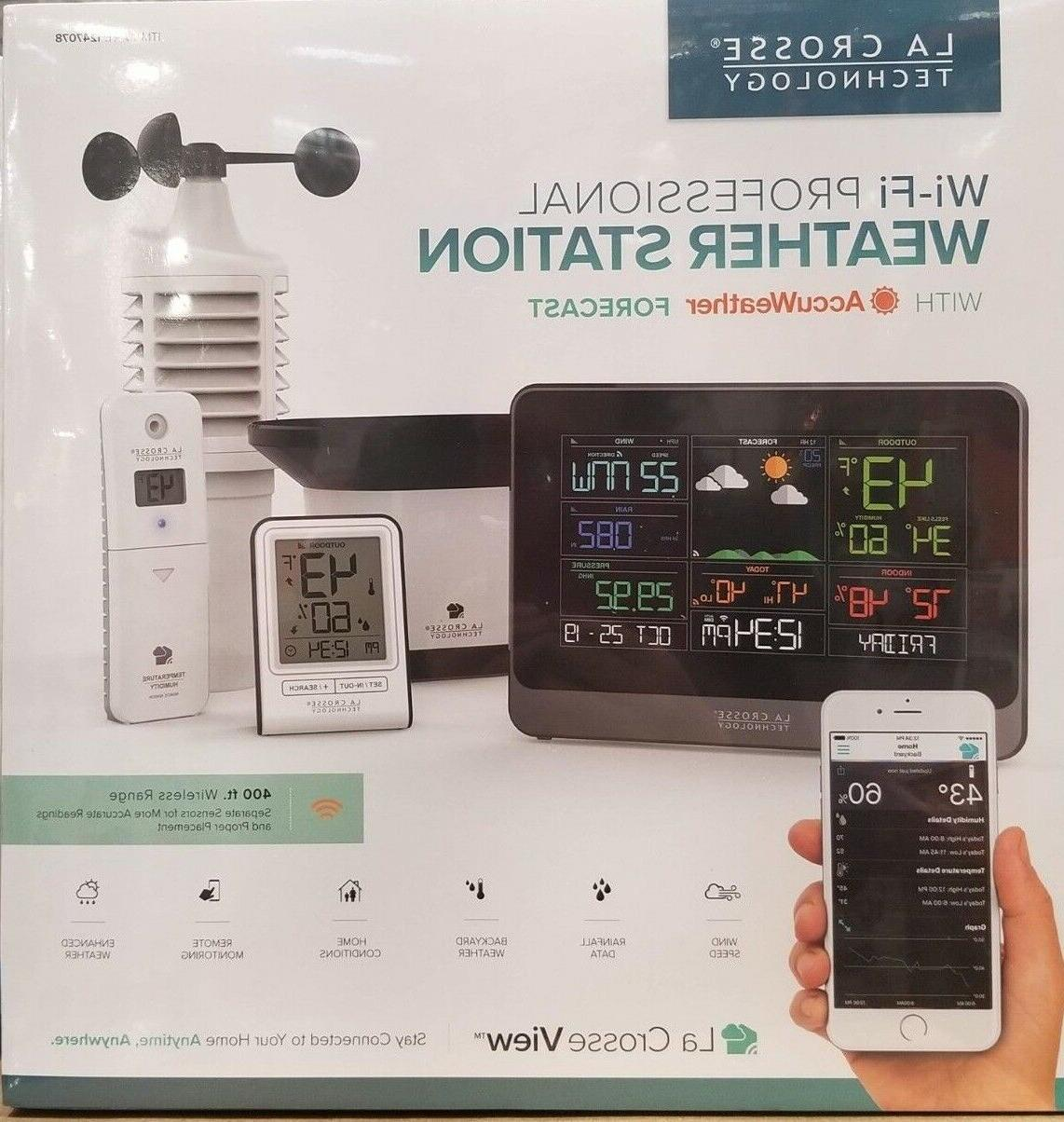 la wi fi weather station