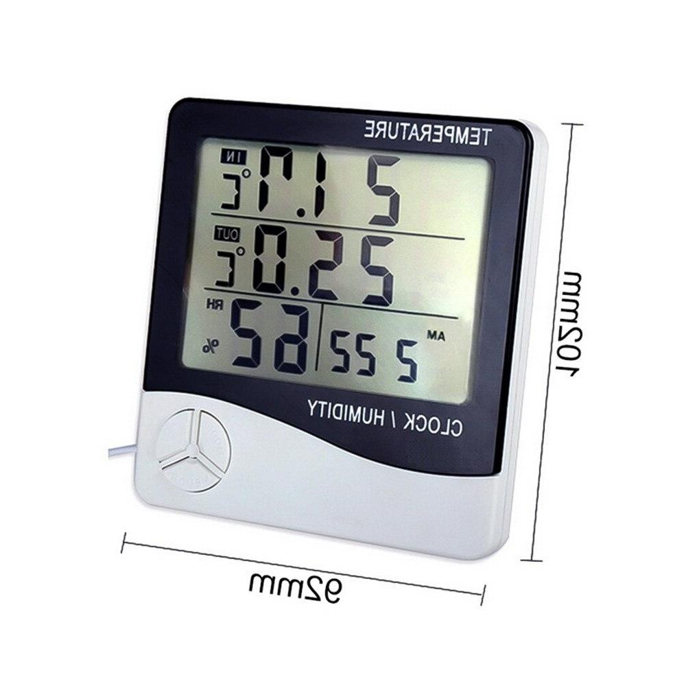 LCD Digital Hygrometer <font><b>Thermometer</b></font> High Temperature Humidity <font><b>Indoor</b></font> Outdoor <font><b>Weather</b></font> <font><b>Station</b></font>