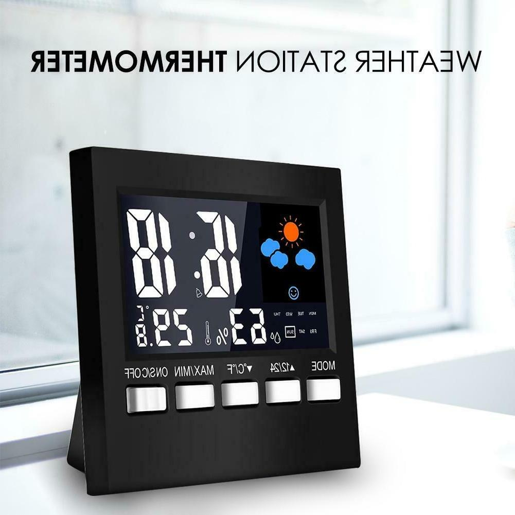 LCD Digital Station Clock
