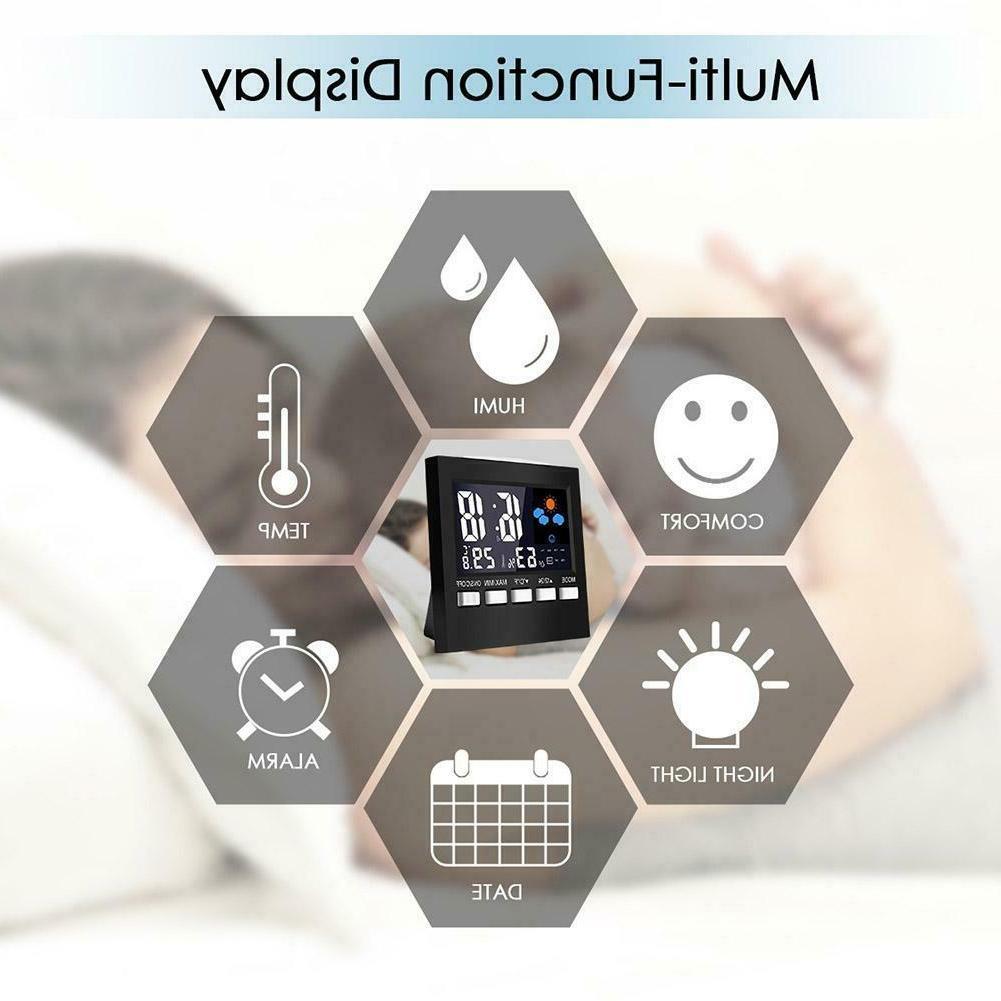 LCD Digital Multi-function Alarm Clock