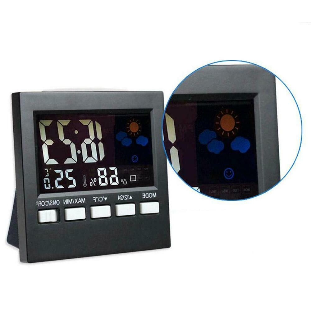 LCD Multi-function Thermometer Clock