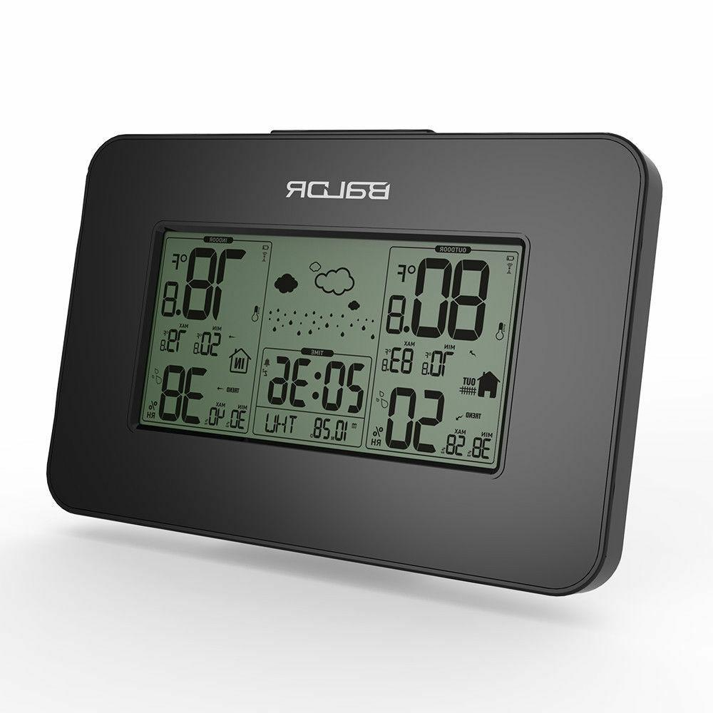 Baldr Weather Station Alarm Outdoor Humidity Temp Backlight