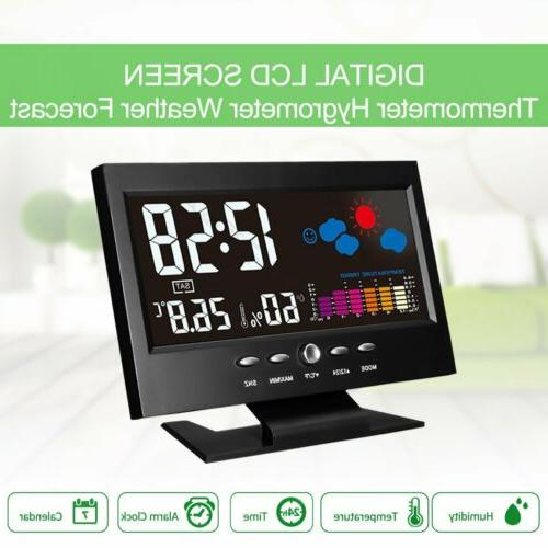 LCD Barometer Snooze Alarm