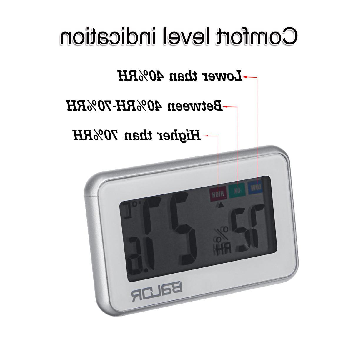 NEW <font><b>Baldr</b></font> Temperature Humidity Meter Electronic Hygrometer Indoor Bathroom
