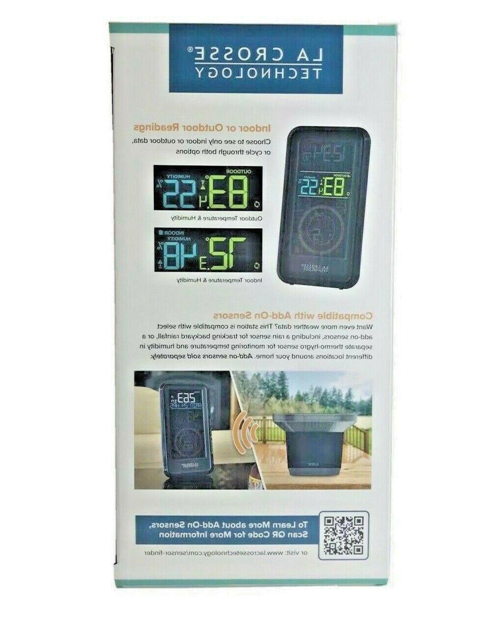 New! La Wireless Weather Station Temperature,Wind,