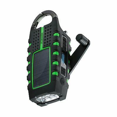 Eton Scorpion ll Rugged Portable Emergency Weather Radio wit