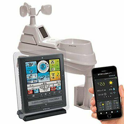 5 in 1 home wireless weather station